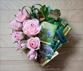 Чайно-розовое сердце