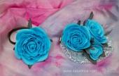 Небесно-голубой комплект